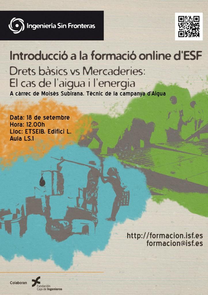 Cartel Presentacón Cursos UPC - ISF Formación
